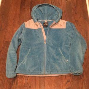 Women's North Face full zip jacket Medium
